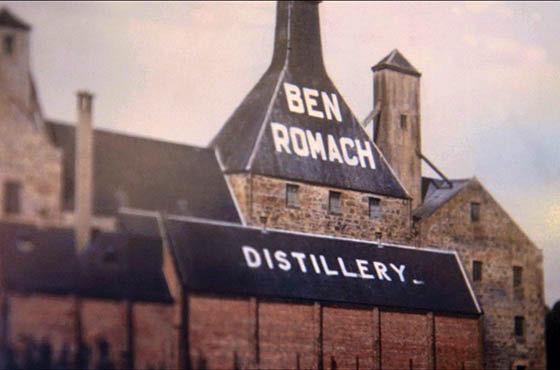 Benromach distillerie