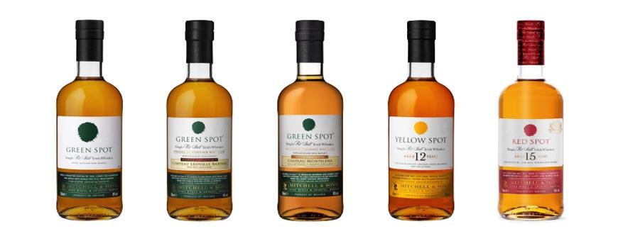 gamme whisky green spot