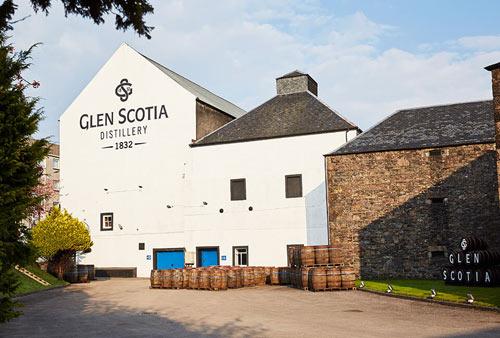 glen scotia distillerie